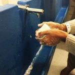 Clean your hands! Clean hands are safe hands